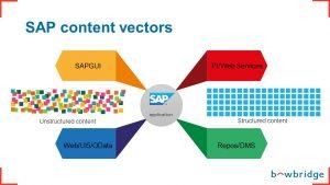 SAP content vectors